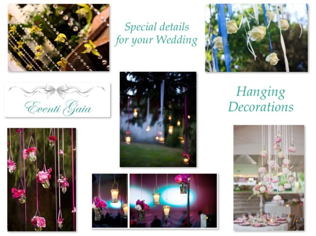 Hanging Decorations for your Wedding