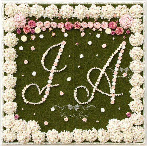 Flower Wall by Eventi Gaia
